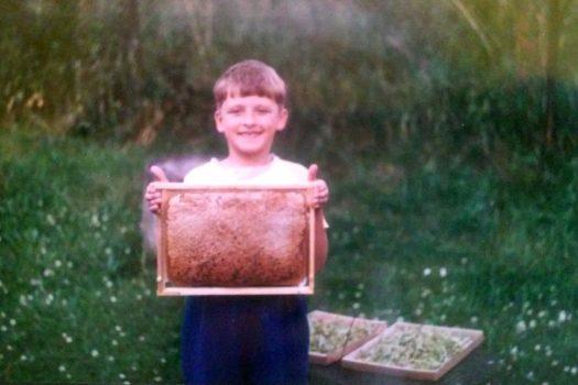 Troszkę historii, czyli młody też może być pszczelarzem