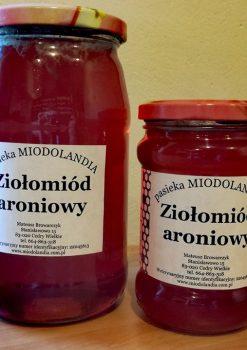 Aronia zamiast lampki wina? Promocja na ziołomiód aroniowy!
