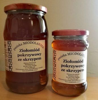 Ziołomiód pokrzywowy ze skrzypem – skarbnica witamin i mikroelementów +PROMOCJA